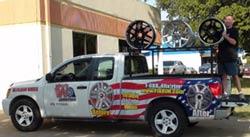 Wheel Repair Pickup & Delivery